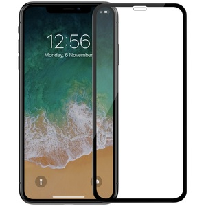 Image 2 - 3D CP+Max Glass for iPhone XS Max Nillkin Screen Protector Curve Full Coverage 9H Arc Premium Tempered Glass for iPhone X XR XS