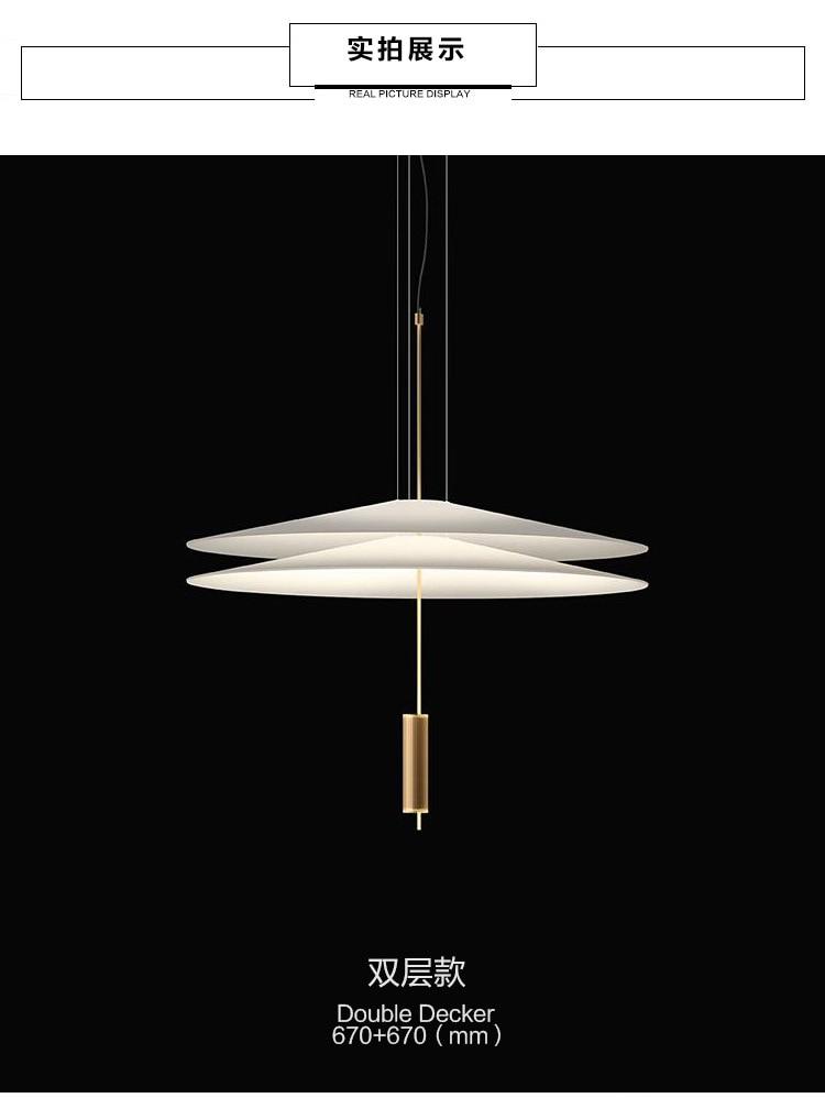 HTB1 1N1elCw3KVjSZFlq6AJkFXam - Modern Acrylic LED Pendant Light Shadow Dining Room Kitchen Light Designer Hanging Lamps Indoor Lighting