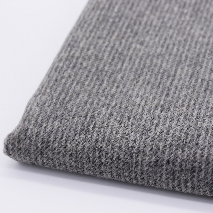 Woolen cloth fabric for autumn garment wool viscose wool for Cloth fabric