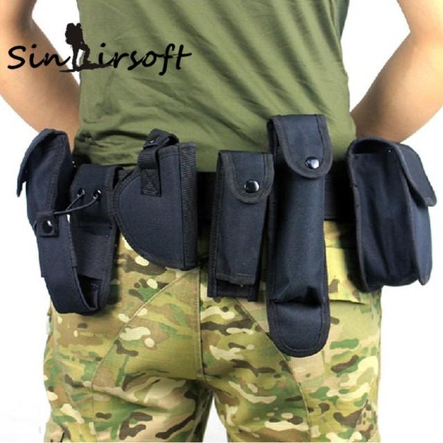 2016 Hot! Cinto Cintos De Homens Grife Multi-função Arisoft Kit Utilitário Guarda Da Polícia de Segurança Cinto de Nylon da Cintura