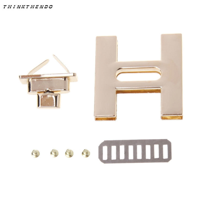 Metal Clasp Turn Lock Twist Locks For Diy Handbag Shoulder Bag Hardware Accessories Luggage & Bags