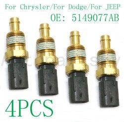 4 sztuk-5149077AB 05149096AB OEM nowy czujnik temperatury płynu chłodniczego dla Dodge dla Chrysler dla samochód terenowy naprawy wymienić Sensoor część