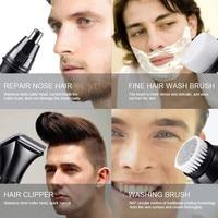 Nose Trimmer Removal Clipper Shaver Electric Shaver Multifunction Beard Trimmer Men Wet/Dry Washable Shaving Machine