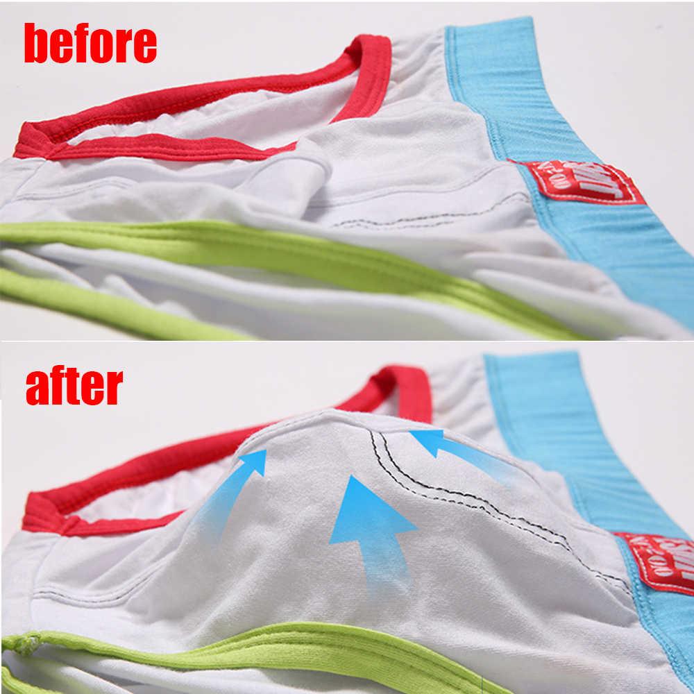 1Pcs 2019 แฟชั่นผู้ชายใหม่กางเกงขาสั้นกางเกงขาสั้นเซ็กซี่ Jockstraps Bulge Pad Enhancer ถ้วยใส่ถ้วยฟองน้ำกระเป๋าชุดว่ายน้ำชุดชั้นใน