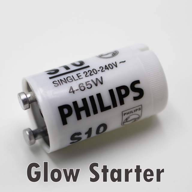 High Quality Fluorescent Lamp Starter For 4 65W180 250VAC