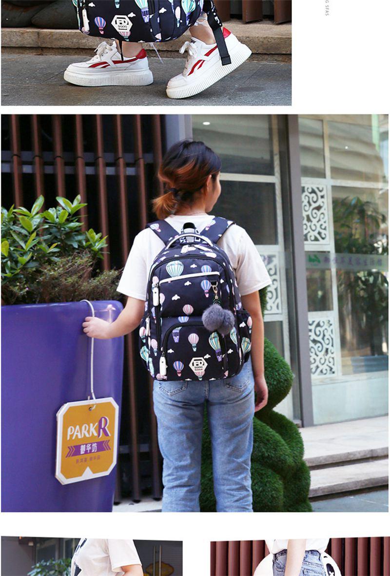 Meninas mochilas escolares estilo coreano crianças sacos