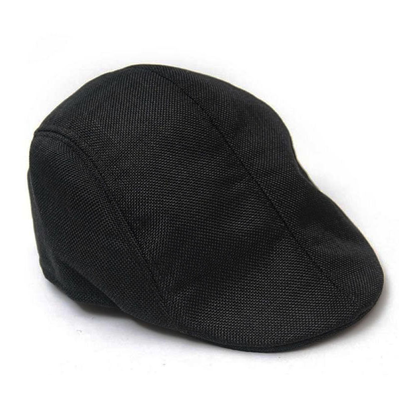 Men Golf Driving Sun Flat Cabbie Newsboy Unisex Herringbone Duckbill Ivy Hat Cap