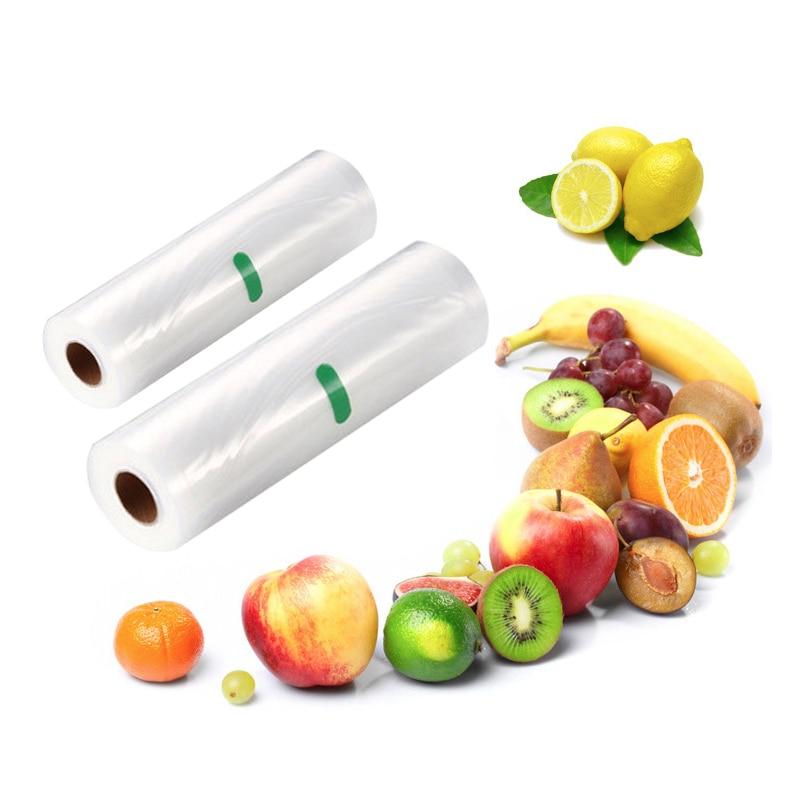 Image 4 - YTK Kitchen Food Vacuum Bag Storage Bags For Vacuum Sealer Food Fresh Long Keeping 12+15+20+25+28cm*500cm 5 Rolls/LotVacuum Food Sealers   -