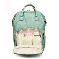 Mummy Receive Oxford Cloth Backpack Laptop Bag women Multi function Large Capacity Waterproof PackageTravel Storage Makeup Bag