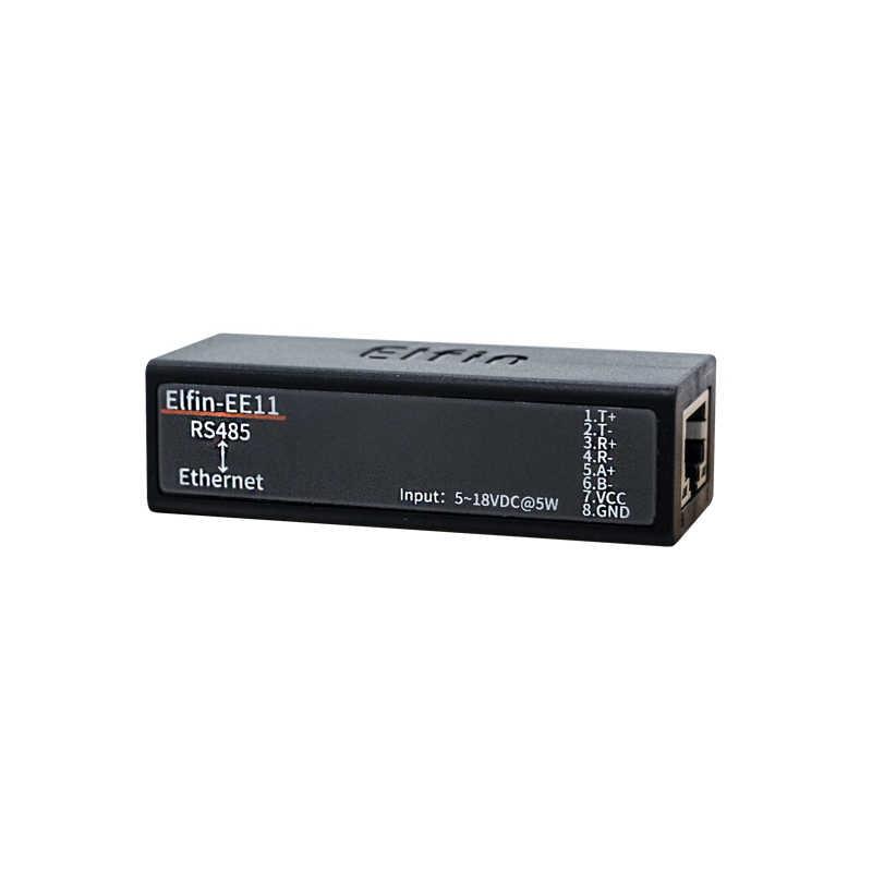 Супер Мини Modbus RS485 RS232 перейти к конвертеру TCP/HTTP Ethernet последовательный сервер