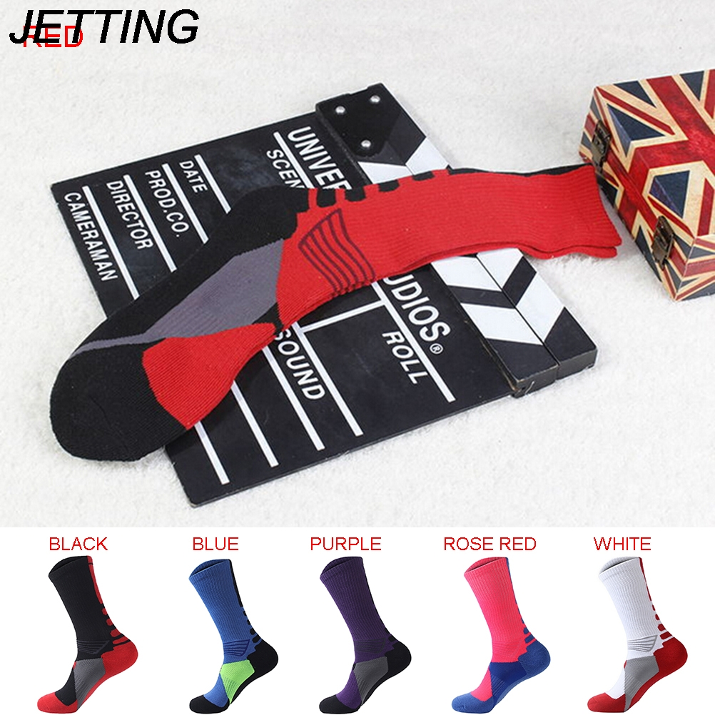 HOT  1 Pair Men Women Riding Basketball Socks New Unseix Breathable Bicycle Footwear