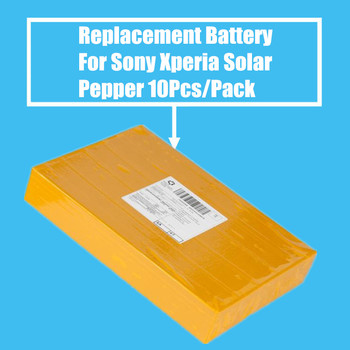 10Pcs/Pack 1265mah Replacement Battery For Sony Xperia Solar Pepper MT27 MT27I High Quality