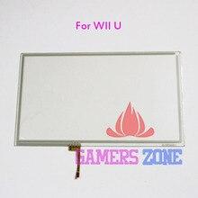 5 adet Wii U Gamepad Için Onarım Bölümü Dokunmatik Ekran Digitizer Dokunmatik Ekran