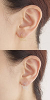 Jisensp New Fashion Wholesale Jewelry Wild Origami Crane Earrings for Women Vintage Cute Animal Bird Stud Earrings Pendientes 5