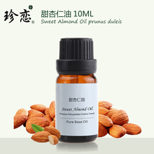 hot deal buy ousannala sweet almond oil 10ml for hydrating and moisturizing smooth skin hair care facial skin care body massage oil base oil