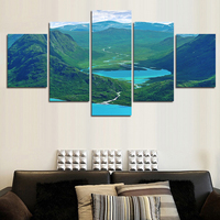 Artryst Special Offer Paintings Painting By Numbers High Quality 5 Piece Wall Art Big Size Picture
