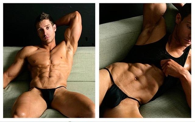 Gay thong muscle
