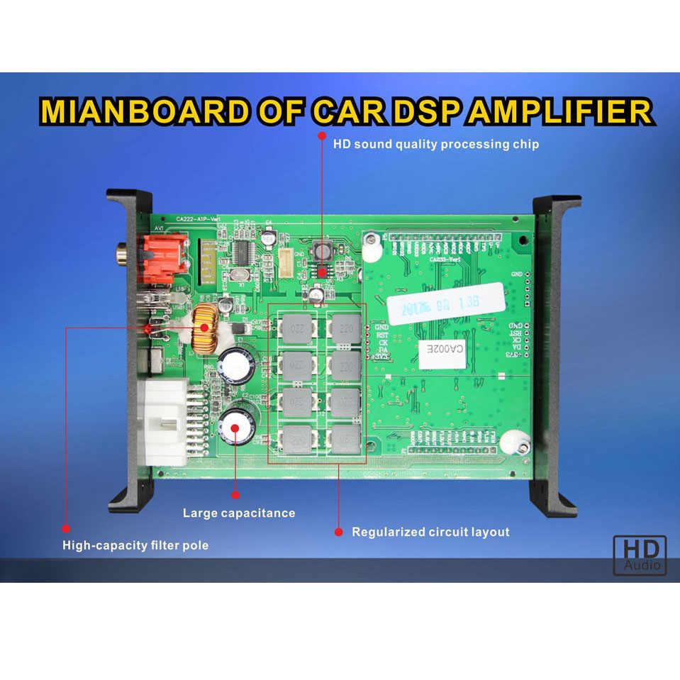 PUZU P31S автомобильный усилитель сигнала 4ch до 6CH поддержка computer31 полоса настройки android приложение автомобильный DSP аудио