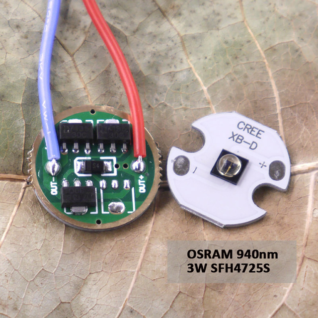 350ma 1 Mode Led Flashlight Driver Circuit Board 3 4 2v 1 Mode