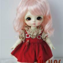 JD375 1/12 1/8 1/6 милый стиль волна синтетический мохеровый парик для куклы size4-5inch 5-6 дюймов 6-7 дюймов Высокое качество Аксессуары для кукол