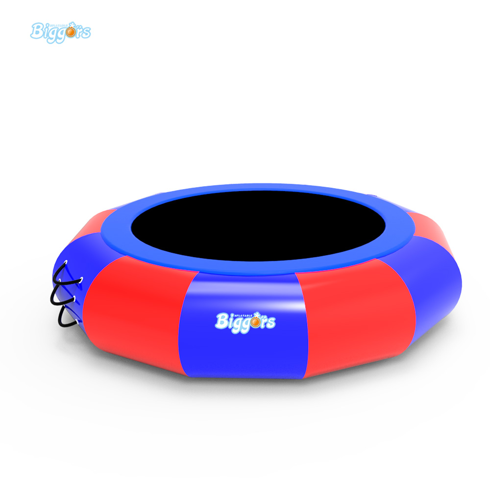 Water Trampoline 5 M Diameter 0.9 mm PVC Inflatable Trampoline Or Inflatable Bouncer china factory price new style inflatable air bouncer inflatable water trampoline for sale