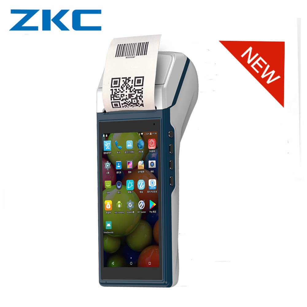 Register-Model Pos-Machine Thermal-Printer/camera Wifi/bluetooth New Cash ZKC5502 Built-In-58mm