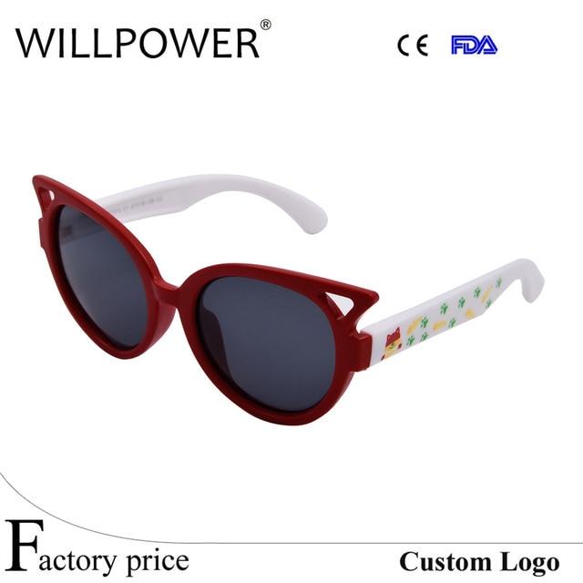 77f1d5de75 Fashion Kids Cat Polarized Sunglasses Brand Sun Glasses Boys Girls Baby  Suitable For Children Aged ...
