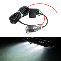 Car Styling Led Boat Marine 9W Drain Plug Light Waterproof IP68 White Underwater Lamp W/ Waterproof Connector