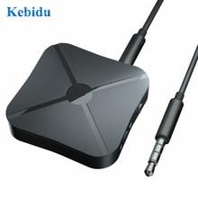 Kebidu Adaptador de Audio 2 en 1 con Bluetooth, receptor de transmisión, transmisor de Audio 4,2, 3,5mm, PK B6