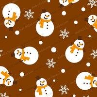 초콜릿 전송 시트, 크리스마스 눈사람 눈송이 장식 베이킹 도구, 50 개 도매