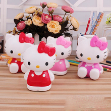 Novel Kawaii Hello Kitty Mechanical pencil sharpener Office School Supplies Pencils Writing Pencil Sharpeners Child gift
