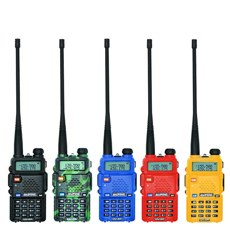 Baofeng UV-5R トランシーバープロ cb ラジオ局 baofeng UV5R トランシーバ 5 ワット vhf uhf ポータブル uv 5R 狩猟ハムラジオ