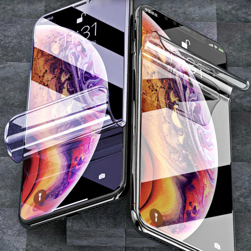 Hydrogel Film For Samsung Galaxy S6 S7 S8 S9 Edge Plus S10 lite S105G S10plus A3 A5 A7 2017 Screen Protector Soft Film Not Glass