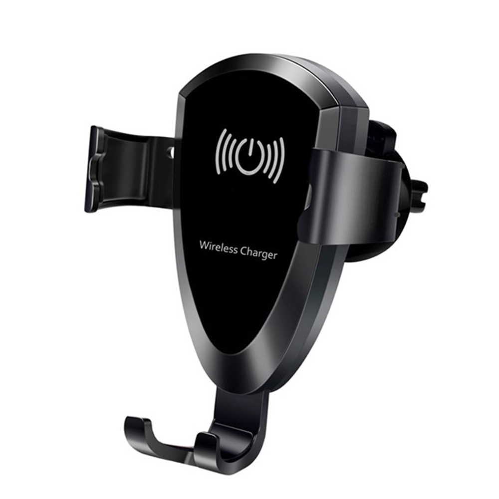 Car Mount Qi Wireless Charger For iPhone XS Max X XR 8 Car Phone Holder For Samsung Note 9 S9 S8 Black Car Charger