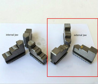 Free shipping Three external jaw for self centering chuck k11-100 machine accessories