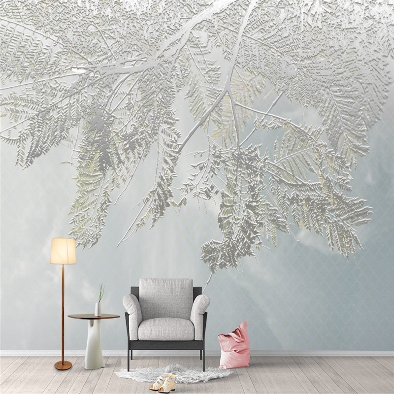 Modern 3D Murals Wallpapers for Living Room Large Nature Trees Photo Wall Papers Home Decor Bedroom Wall Murals 3D Landscape HD sea world 3d wallpaper murals for living room bedroom photo print wallpapers 3 d wall paper papier modern wall coverings