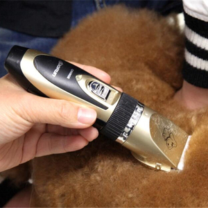 Image 5 - Professional Pet Dog Hair Trimmer Rechargeable Cat Animals Grooming Clippers Shaver Electric Scissors Dogs Hair Cutting Machine