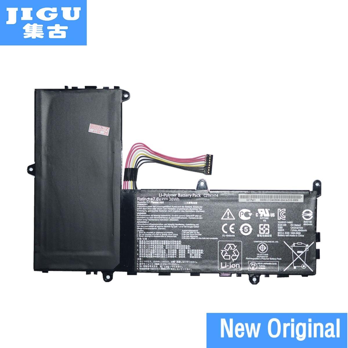JIGU Original New C21N1414 Battery For ASUS EeeBook X205T X205TA Series C21N1414 7.6V 38WH Free 1 Year Warranty