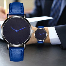 Minimalism Mens Watch Quartz Casual Business Simple Male Leather Strap WristWatch Clock Relogio Masculino Fashion Gift