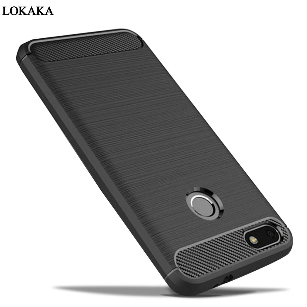 LOKAKA P9 Lite Mini Elephone Parts For huawei Y6 Pro 2017 Case Dirt Resistant Silicone Cover Mobile Phone Bags Cases P9Lite Mini