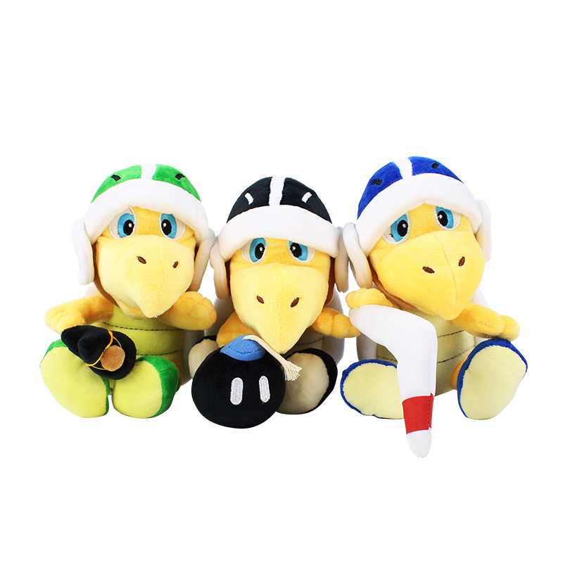 18cm Super Mario Bros Plush Koopa Troopa Hammer Boomerang Stuffed Plush Toys Doll Kids Gifts
