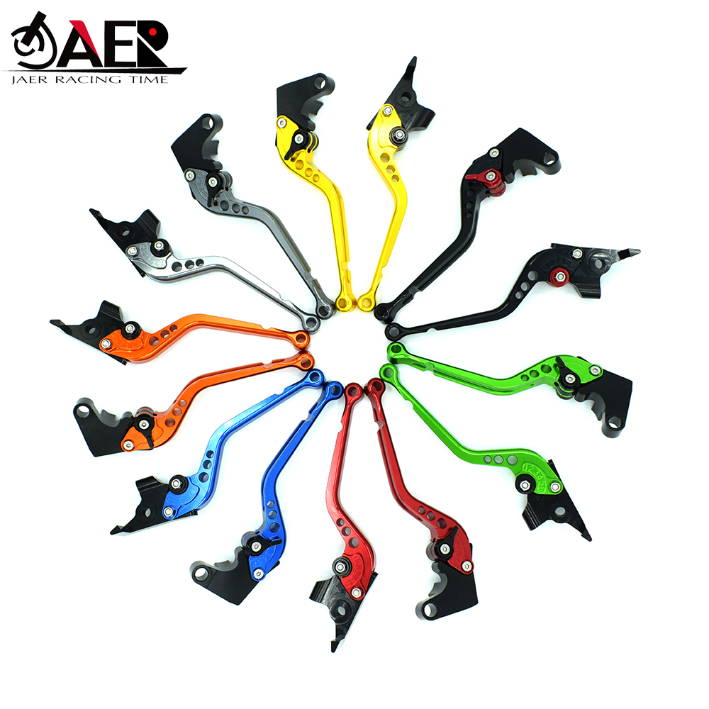 JEAR Adjustable Motorcycles Brake Clutch Levers for Suzuki GSR750 GSXS750 2011 2018 SFV650 GLADIUS 2009 2015 TL1000S 1997 2001-in Levers, Ropes & Cables from Automobiles & Motorcycles
