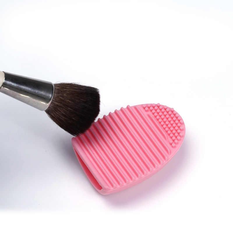 Silicone Make Borstels Cleaning Pad Mat Borstel Wassen Gereedschap Cosmetische Wenkbrauw Borstel Cleaner Tool Scrubber Board Make-Up Reiniging