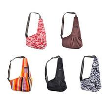 Pet/Dog/Cat Carrier Bag Sleeping Carry Portable Foldable Slings Shoulder Handbag Travel Puppy Backpacks Breathable Cloth Single