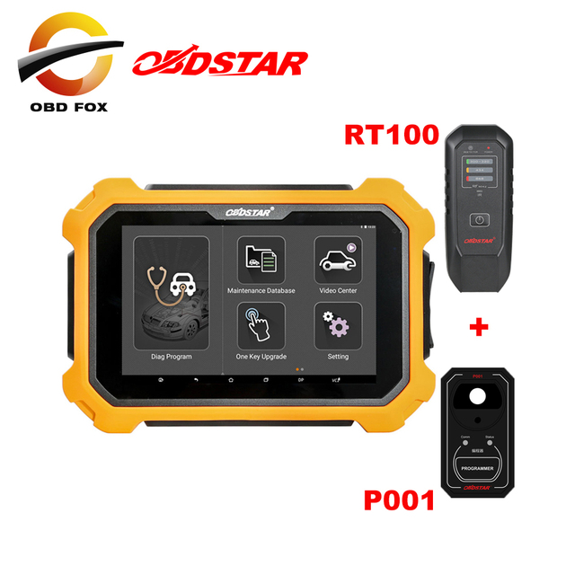 OBDSTAR X300 PAD2 X300 DP Plus 8inch Tablet Support ECU Programming for  Toyota Smart Key odometer correction with P001 adapter