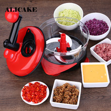 Multifunctional Vegetables Cutter Chopper Crusher Dicer Cabbage Knife Meat Grinder Egg Tools Creative Kitchen Tools Accessories(China)