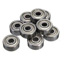 10PCS 623ZZ Bearing ABEC-5 3x10x4 mm Miniature 623-2Z Ball Bearings 623  Carbon Steel Ball Bearing Set