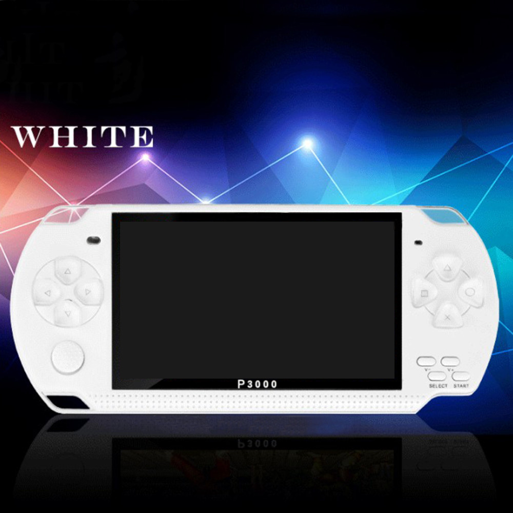Built-in 5000 games, 8GB 4.3 Inch PMP Handheld Game Player MP3 MP4 MP5 Player Video FM Camera Portable Game Console