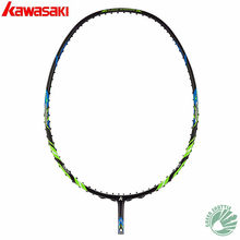 2019 Genuine Kawasaki 30T High Rigidity Carbon Fiberr Tension 666 Ad Badminton Racket High Tension G5 Racquets With Gift(China)