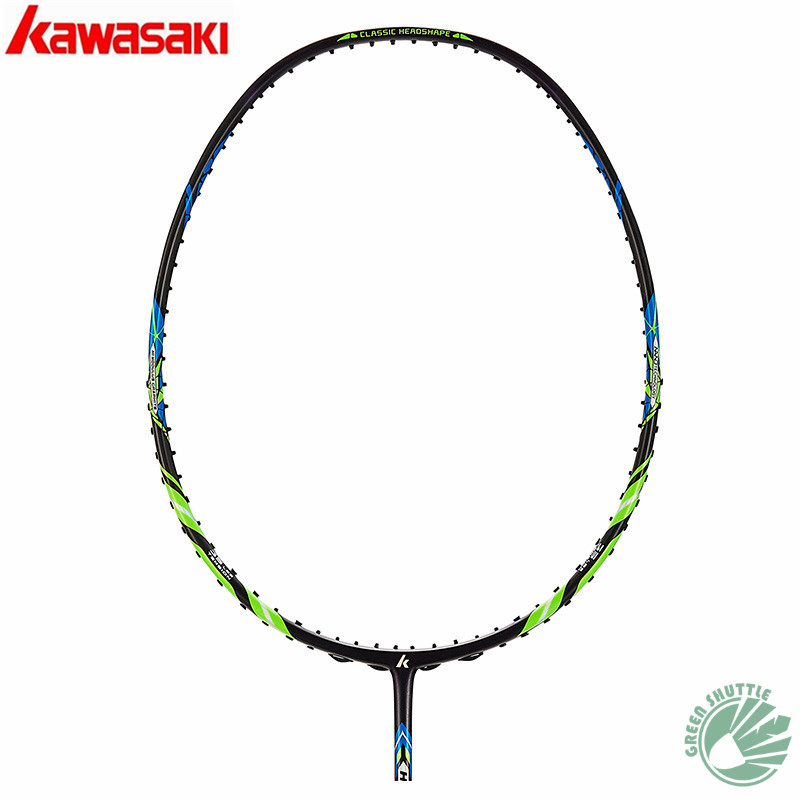 2020 Genuine Kawasaki 30T High Rigidity Carbon Fiberr Tension 666 Ad Badminton Racket   G5 Racquets With Gift